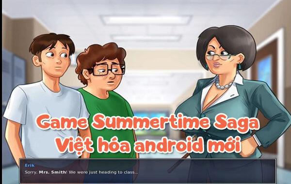 Game Summertime Saga Việt hóa Android mới + link tải